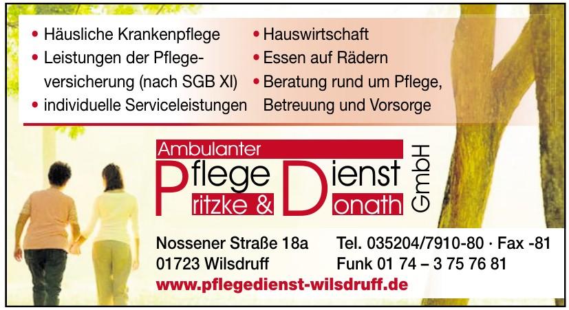 Ambulanter Pflegedienst Pritzke & Donath GmbH