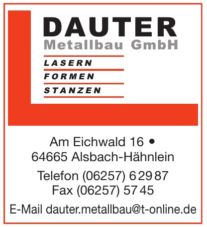 Dauter Metallbau GmbH
