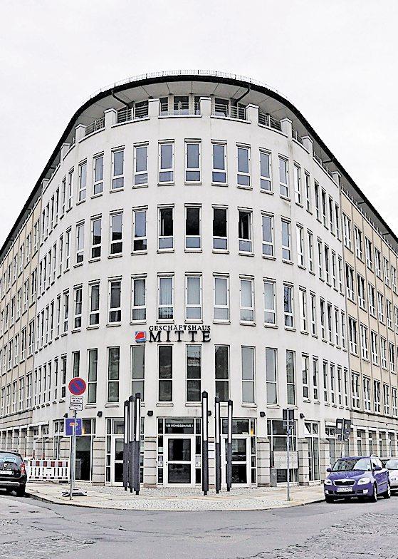 Der Sitz des MDK Sachsen in Dresden. Archivfoto: Hellmann
