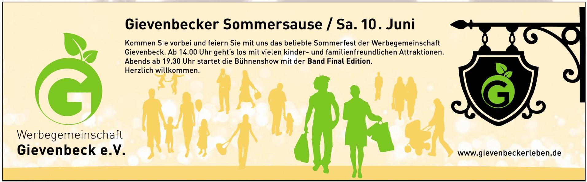 Werbegemeinschaft Gievenbeck e.V. - Gievenbecker Sommersause