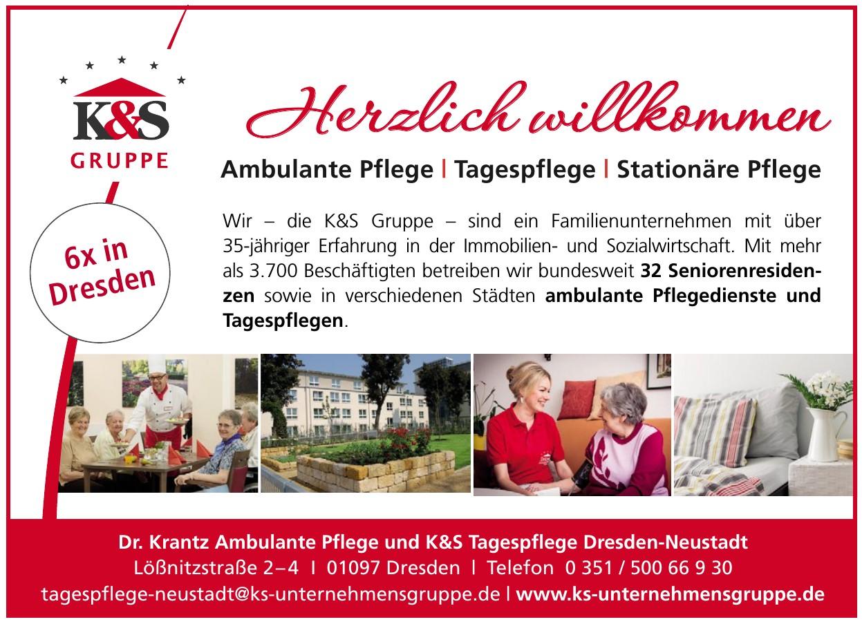 Dr. Krantz Ambulante Pflege und K&S Tagespflege Dresden-Neustadt