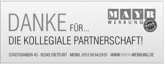Mayr Werbung
