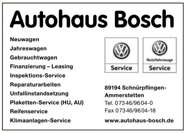 Autohaus Bosch