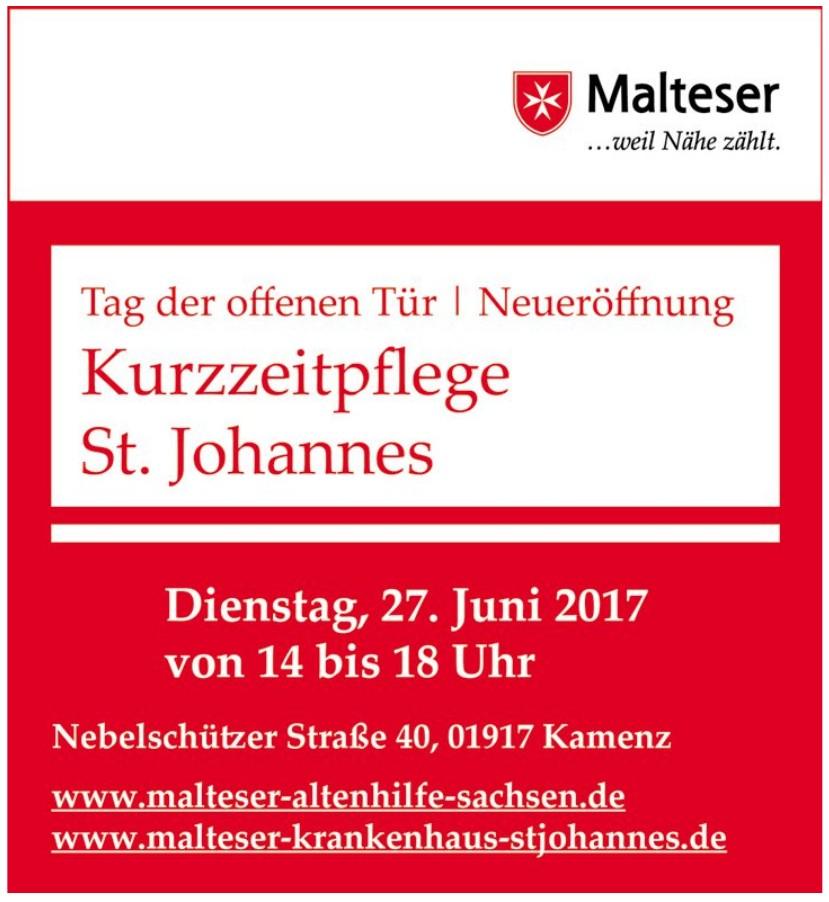 Malteser - Kurzzeitpflege St. Johannes