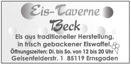 Eis-Taverne Beck