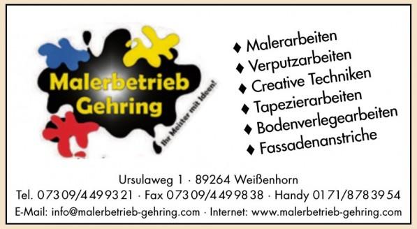 Malerbetrieb Gehring