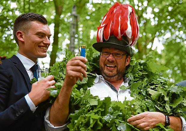 Im vergangenen Jahr konnte sich Sven Pöpping über die Königswürde freuen. Wer ihm ins Amt folgt, entscheidet sich an diesem Wochenende. Foto: hbm