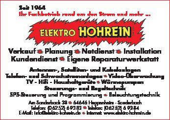 Elektro Hohrein