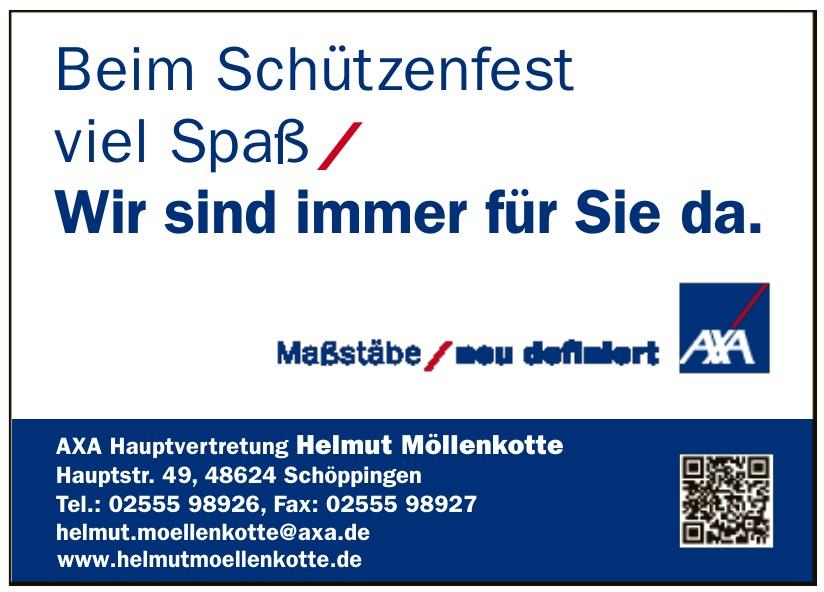 AXA Hauptvertretung Helmut Möllenkotte