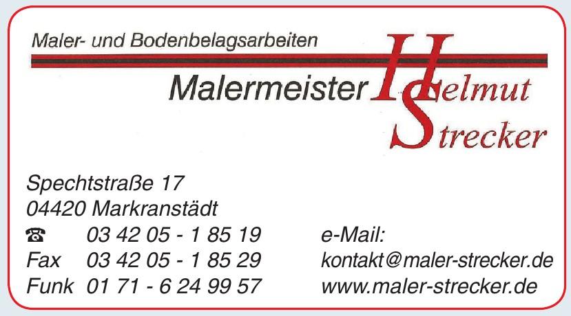 Malermeister Helmut Strecker