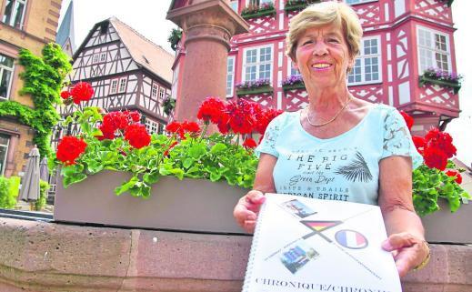 Seit 2010 steht Barbara Hopp an der Spitze des Freundeskreises Heppenheim-Le Chesnay. Der Verein zählt aktuell rund 150 Mitglieder aus Heppenheim und der Region. Foto: Thomas Zelinger