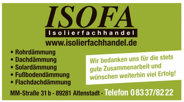 Isofa Isolierfachhandel