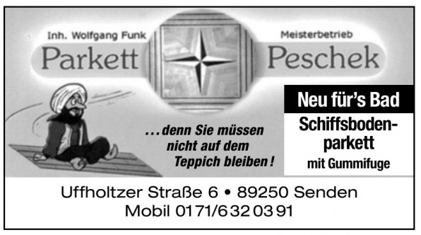 Meisterbetrieb Parkett Peschek