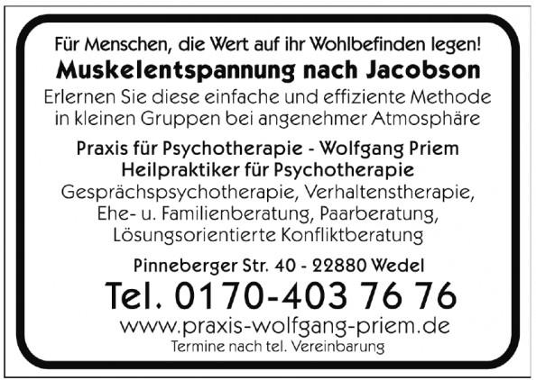 Praxis für Psychotherapie - Wolfgang Priem