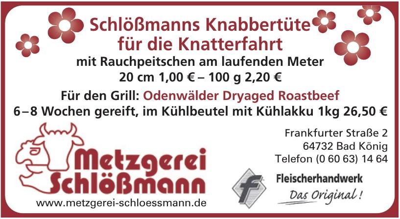 Metzgerei Schlössmann