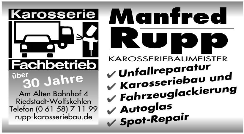 Manfred Rupp Karosseriebaumeister