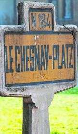 Der Le Chesnay-Platz an der Kettelerstraße ist Zeugnis der Städtepartnerschaft von Heppenheim und Le Chesnay.Foto: Karl-Heinz Köppner