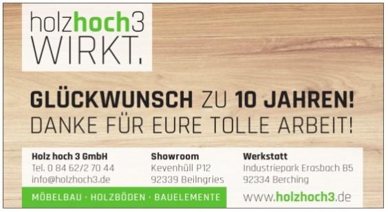 Holz hoch 3 GmbH