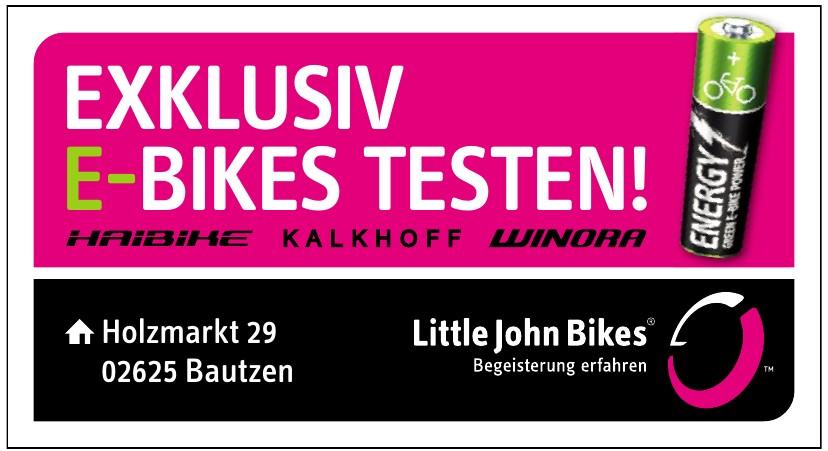 Exklusiv E-Bikes Testen!