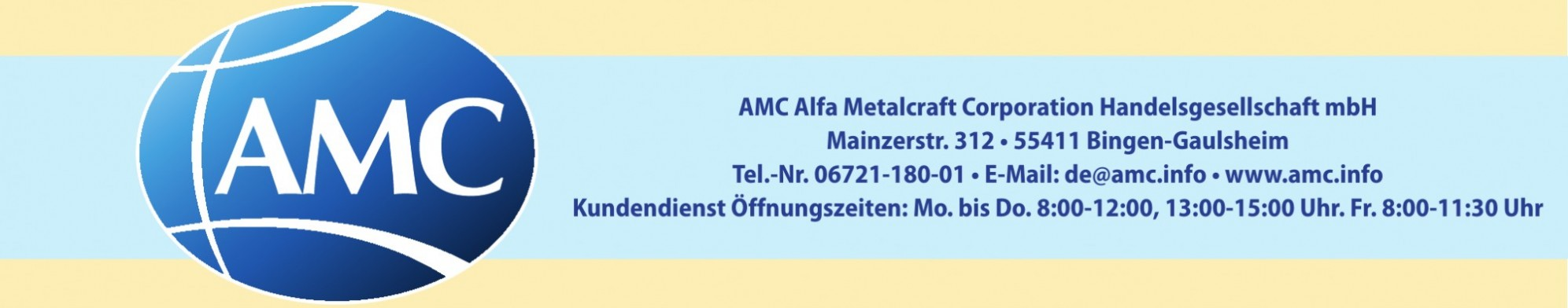 AMC Alfa Metalcraft Corporation Handelsgesellschaft mbH
