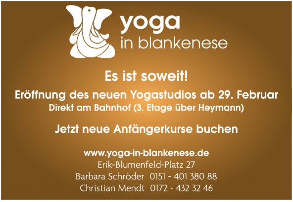 Yoga in Blankenese