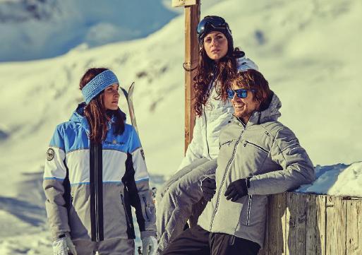 Skikleidung der italienischen Marke CMP
