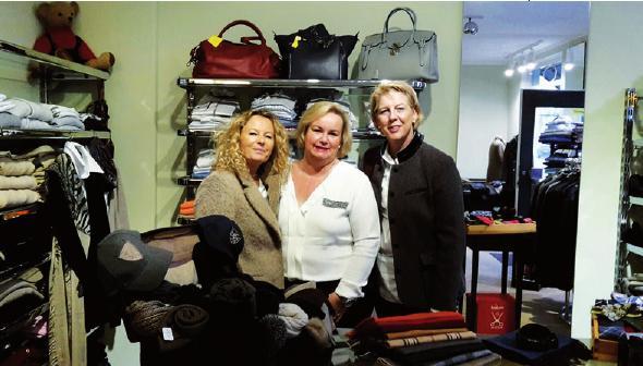 Anette Westendorp, Katrin Weisbrod und Birgit Euler-Engelhardt von Markt 26