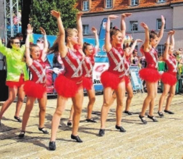 Willkommen zum Stadtfest in Leuna