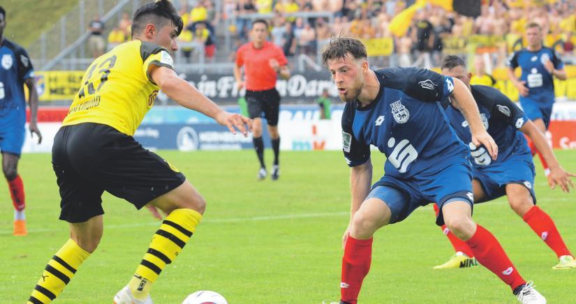 Bonner SC unterlag Borussia Dortmunds U23 im Bonner Sportpark Nord