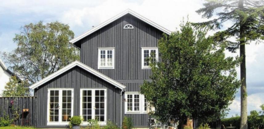 Dänische Holzfenster – Zur Welt hin geöffnet