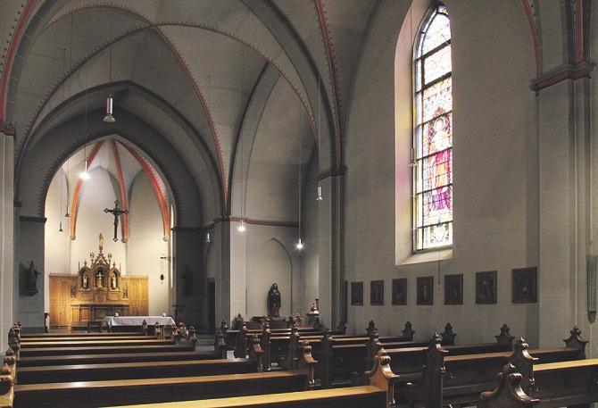 Klangraum-Kunigunde in der Kirche St. Heinrich und Kunigund am Schillplatz