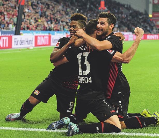 Wie Bayer 04 in die Fußball-Annalen einging