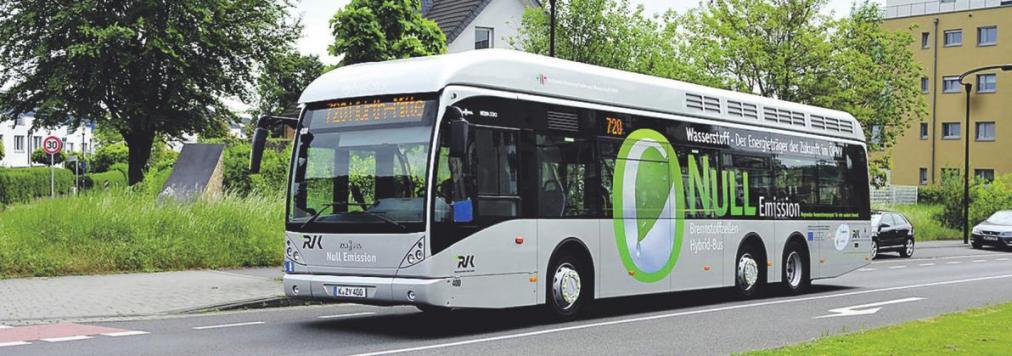 Ab Frühjahr 2019 fahren in Köln 30 neue Fahrzeuge mit umweltfreundlicher Technologie