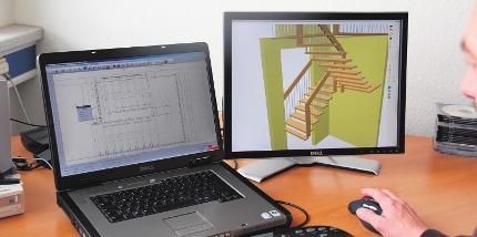 Dank 3d-Planung: Wie Treppen im Raum wirken