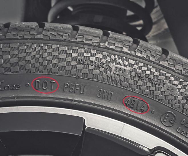 Nach sechs Jahren bauen Reifen merklich ab und können unsicher sein