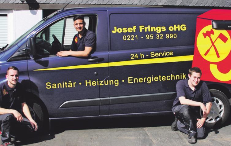 Das Familienunternehmen Josef Frings oHG engagiert sich für den Nachwuchs und das Mitarbeiter-Team