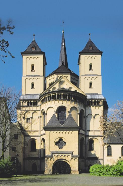 Die Abtei Brauweiler hat eine sehr bewegte Geschichte