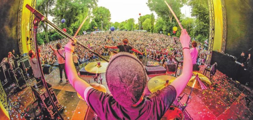 """Das """"Jeck im Sunnesching""""-Festival im Kölner Jugendpark in Deutz ist bereits seit Monaten ausverkauft."""