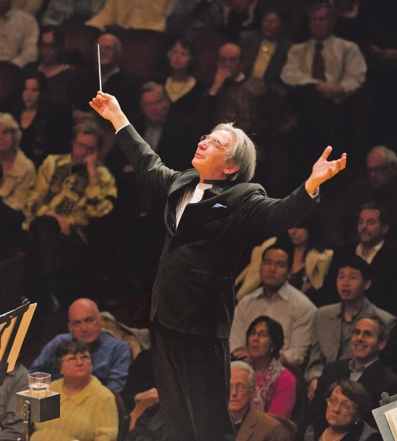 Michael Tilson Thomas und das London Symphony Orchestra