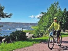 """Reise-Trends 2018: Fahrrad-Tour """"Route der Norddeutschen Romantik"""" zwischen Wolgast und Greifswald"""