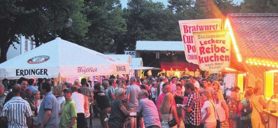Das Stadtfest der AKG lockt in jedem Jahr rund 30.000 Besucher in die Kolpingstadt
