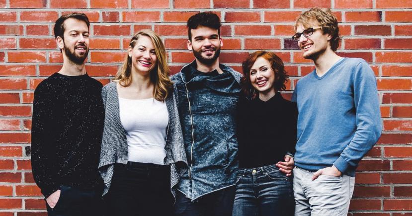 Quintense und der Jazzchor der Uni Bonn zu Gast in Köln