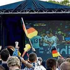 Public Viewing zur Fußball-WM