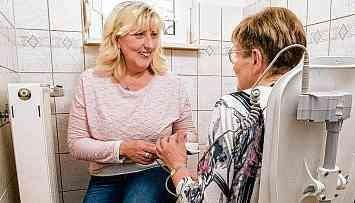 Wo Pflegenden geholfen wird