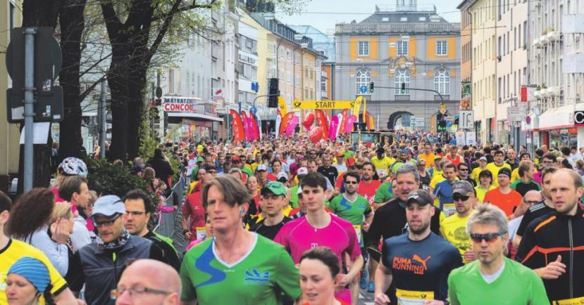 Anmeldungen für den Marathon am 15. April sind noch möglich.