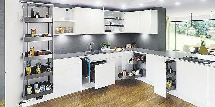 Auch eine kleinere Küche ist eine funktionalle Wohlfühloase