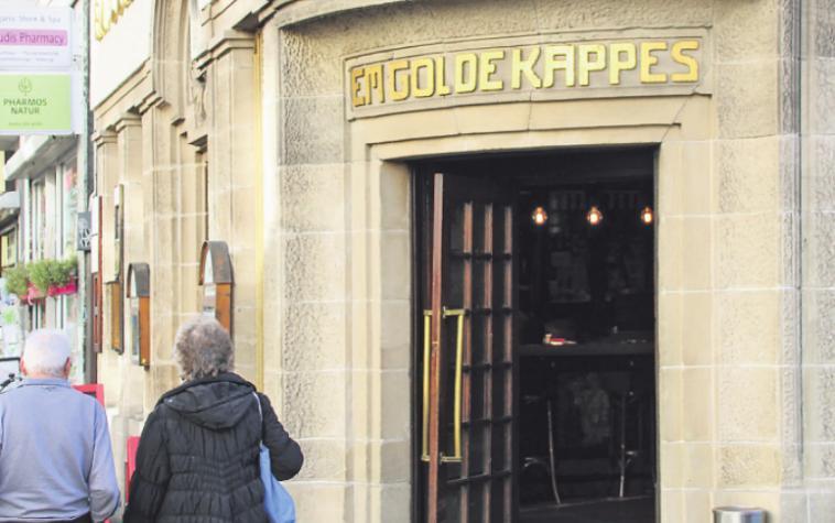 """Die Gaststätte """"Em Golde Kappes"""" ist seit über 100 Jahren eine Institution im Veedel"""