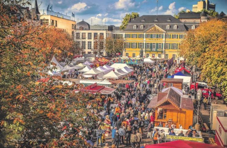 Vom 5. bis 7. Oktober steht die Bundesstadt voll und ganz im Zeichen des 21. BonnFestes