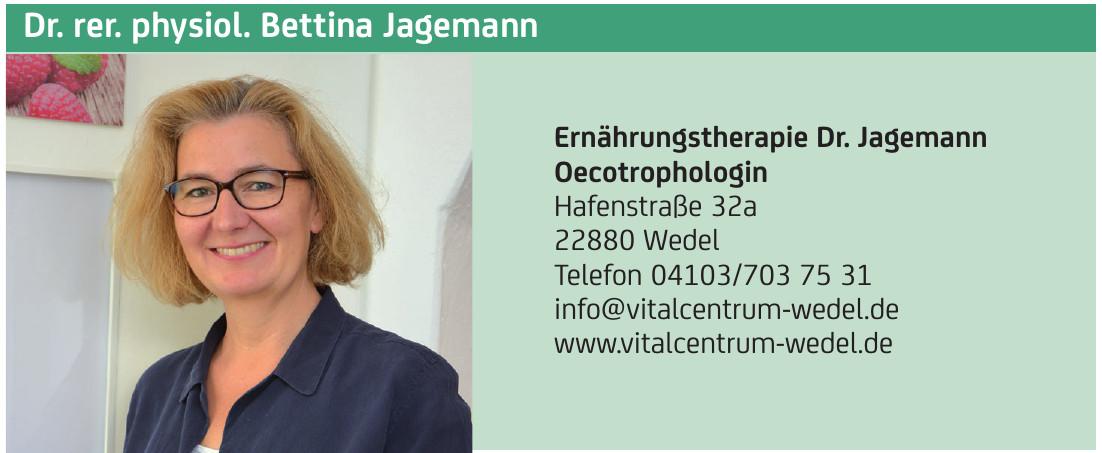 Dr. rer. physiol. Bettina Jagemann