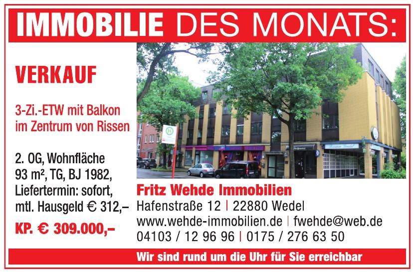 Fritz Wehde Immobilien